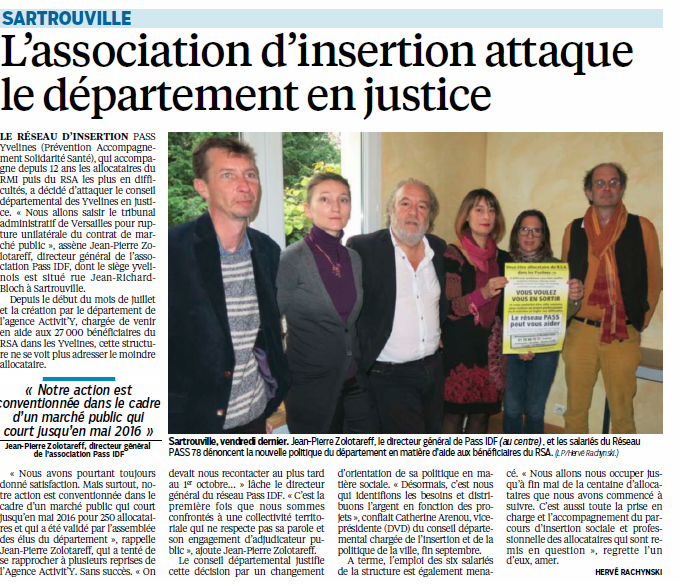 Le parisien insertion