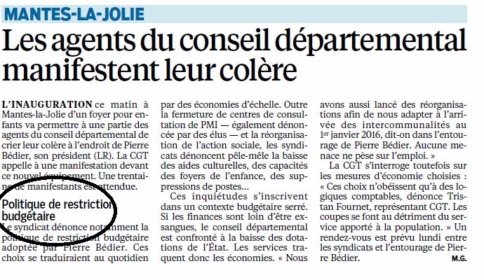 Parisien budget